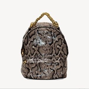 Chelsey comfort petite Python mini backpack